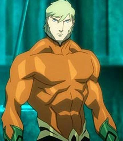 Aquaman in JL: Throne of Atlantis