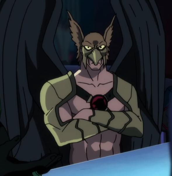 Hawkman in JL