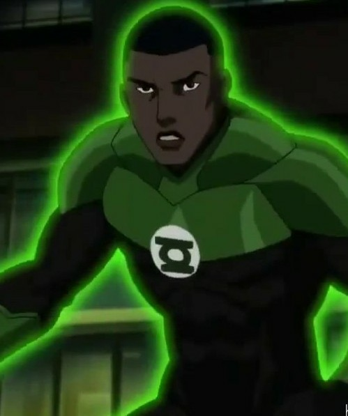 Green Lantern in JLD