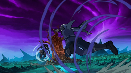 And used to clash evenly with Unalaq