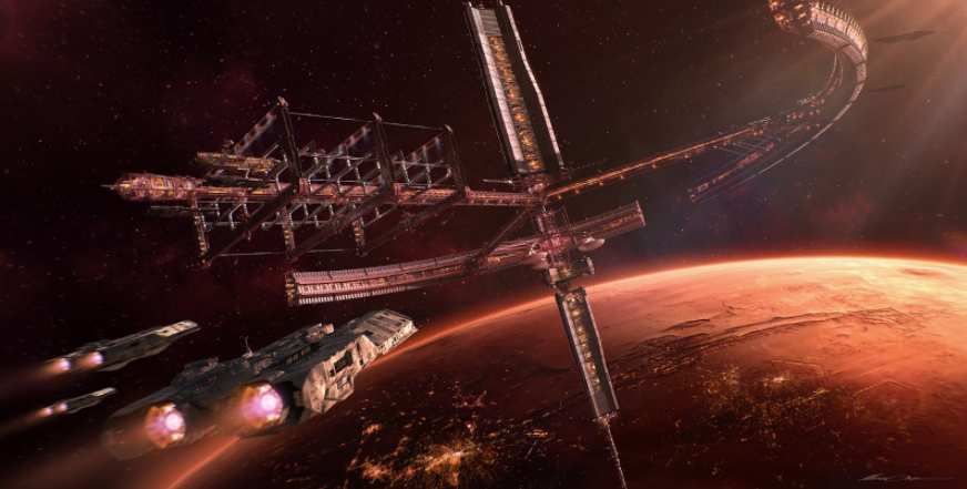 Space Station HELIOS
