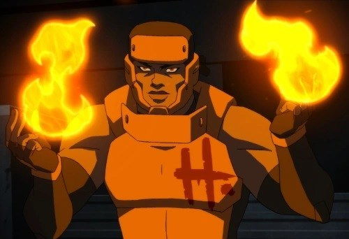 Holocaust in Young Justice: Outsiders