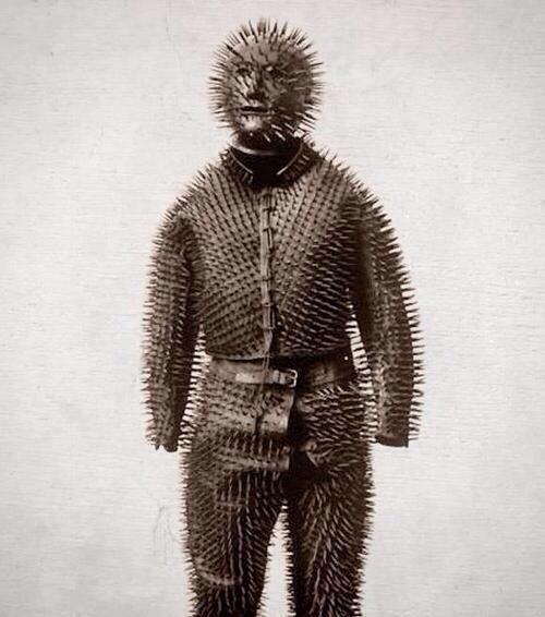 Siberian bear hunting armor