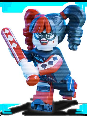 Harley from Batman the Lego Movie
