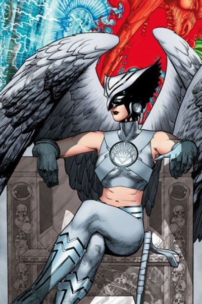 Hawkgirl from Brightest day