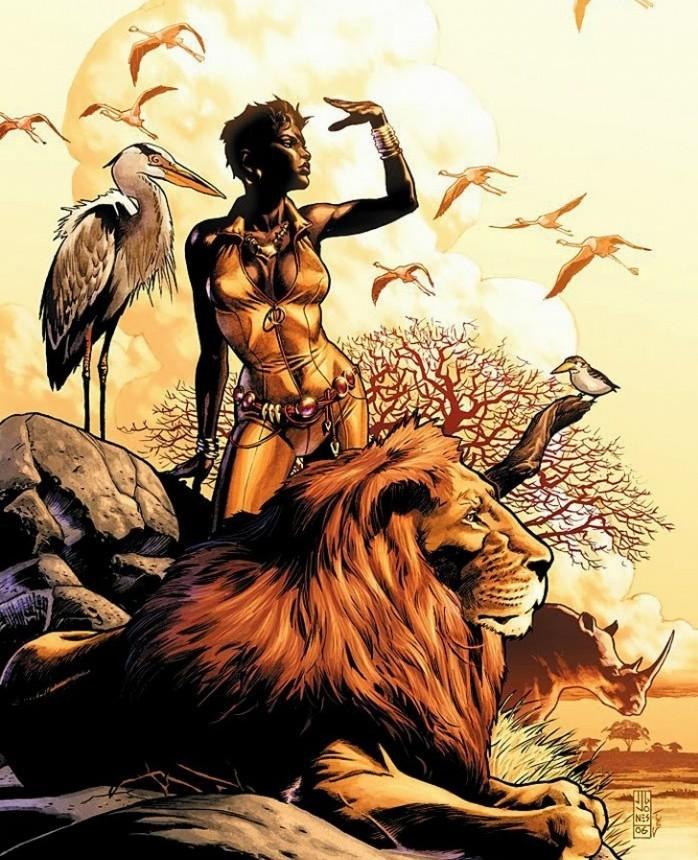 Vixen as Queen of the wild