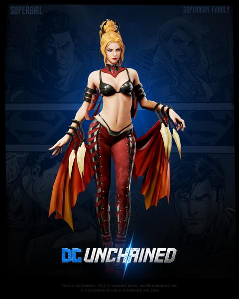 Fury Supergirl