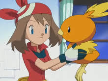 May with Torchic