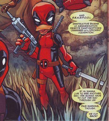 Deadpool The Duck (Earth-791021)