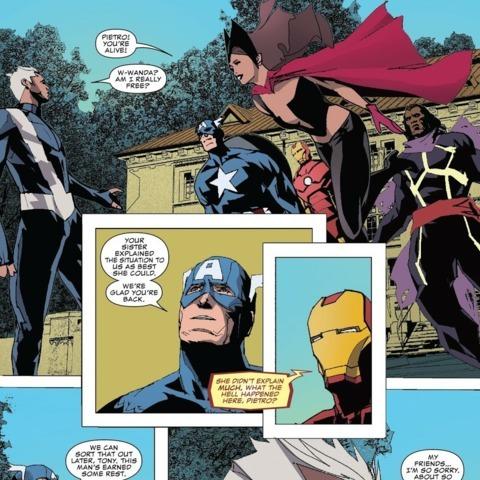 Quicksilver: No Surrender issue #5