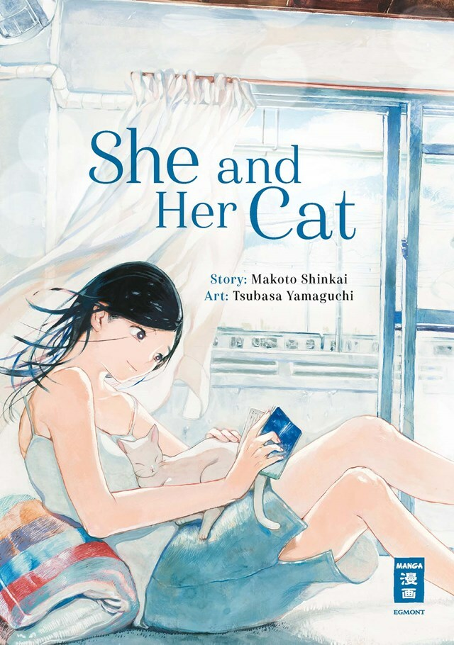 She and her Cat