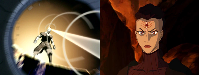 Combustionbending: Combustion Man and P'li