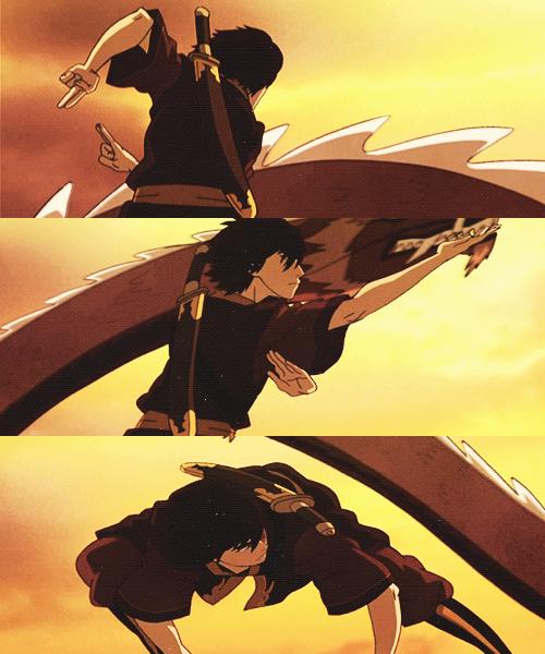 Zuko preforming the Dancing Dragon