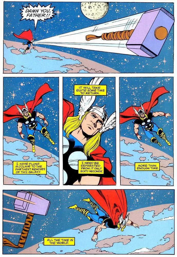 Mjolnir moves from Galaxies in less than a minute