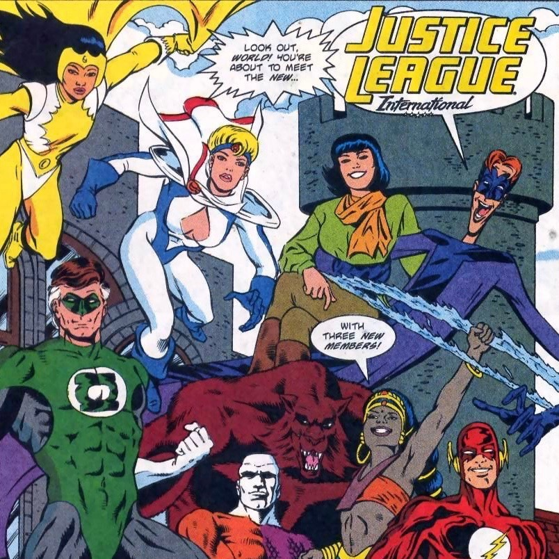 Ralph and Sue, happily together as part of the JLI