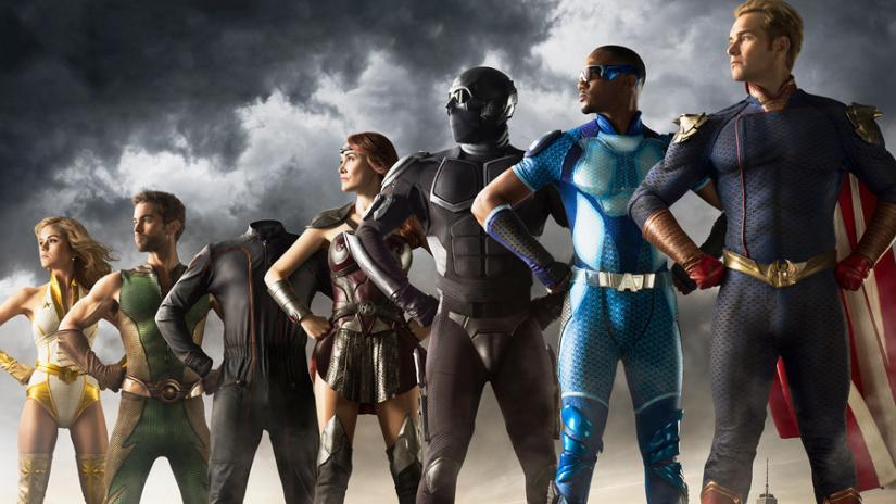 The Seven in promotional material