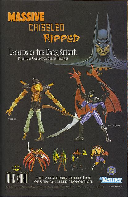 Kenner Batman toys
