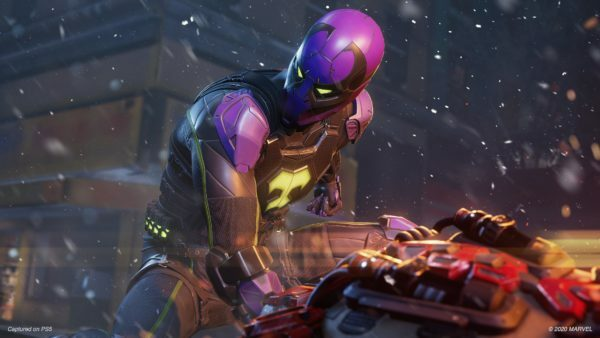 Prowler in the Miles Morales game