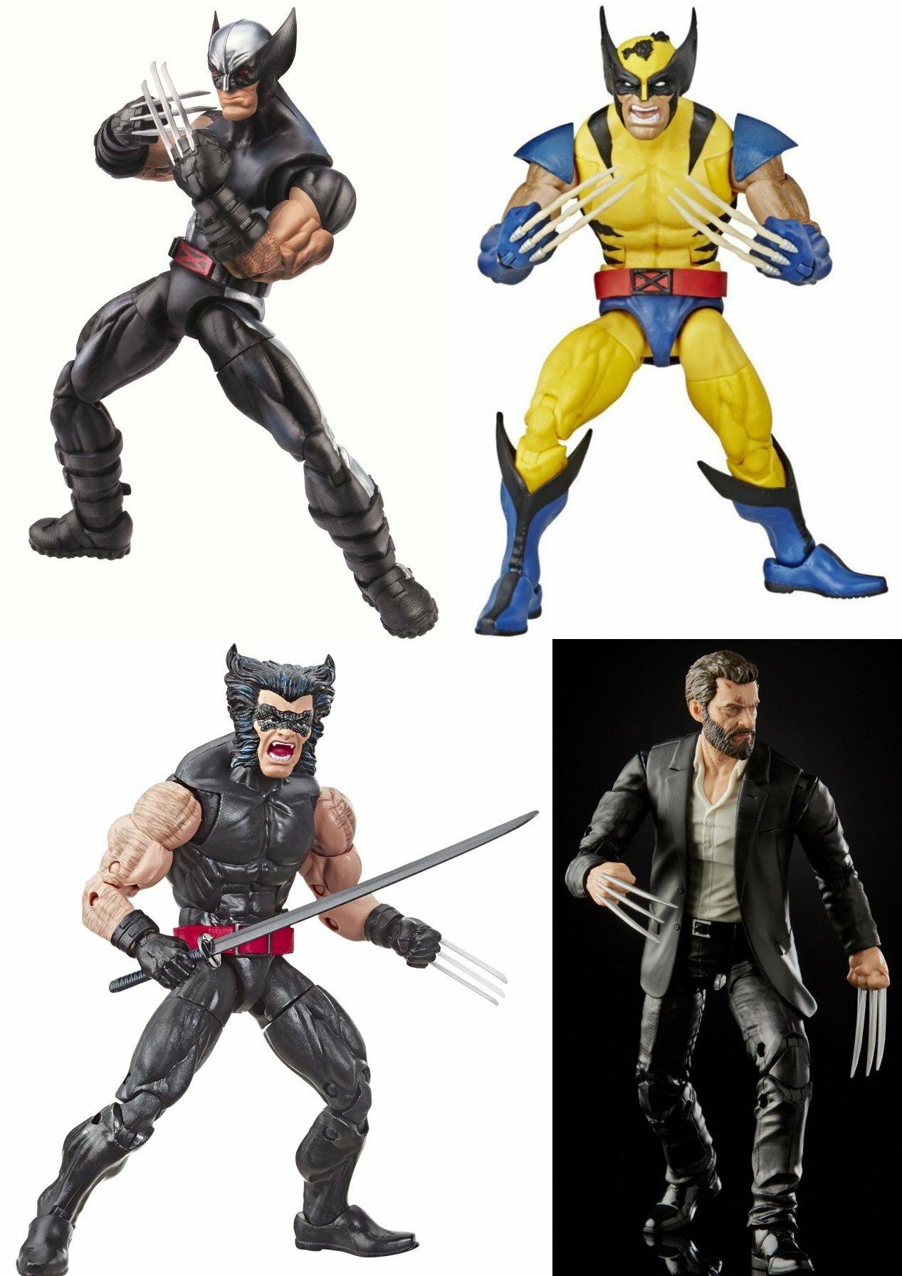 A sampling of Marvel Legends figures