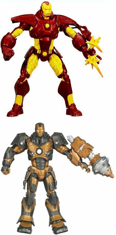 Variant armors from Hasbro