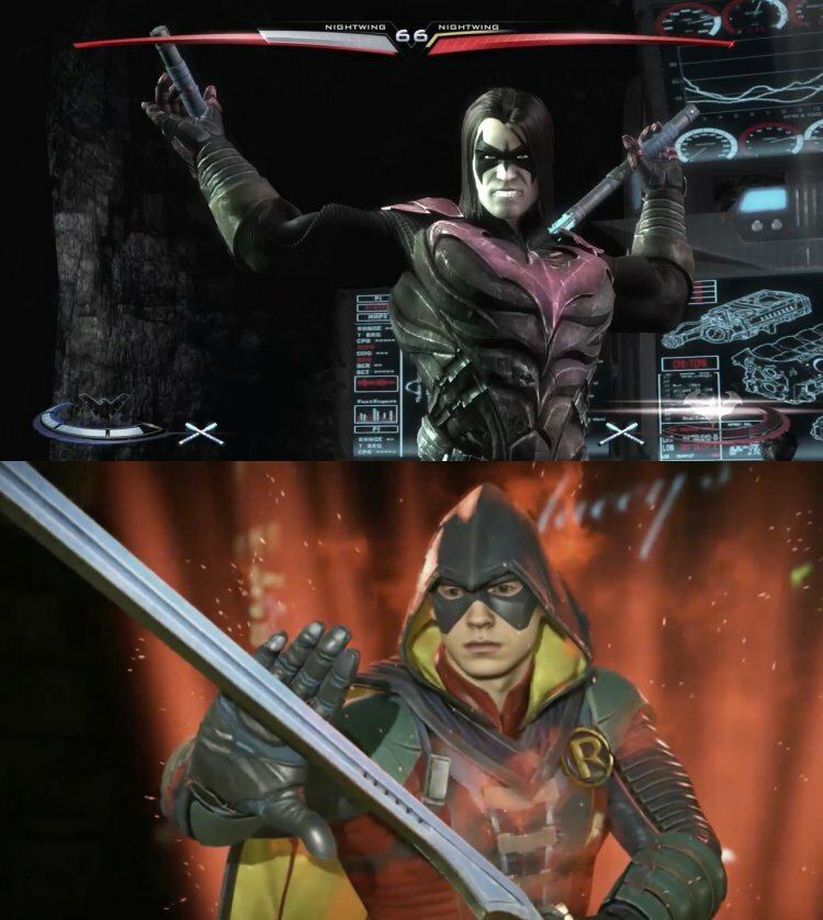Damian in Injustice and Injustice 2