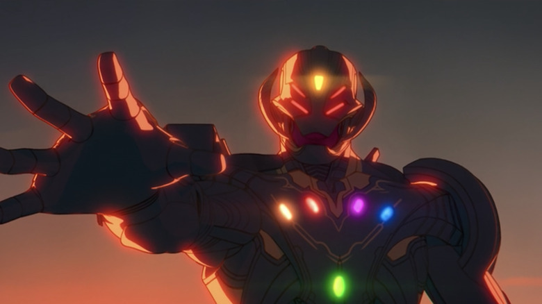 Ultron with the Infinity Stones