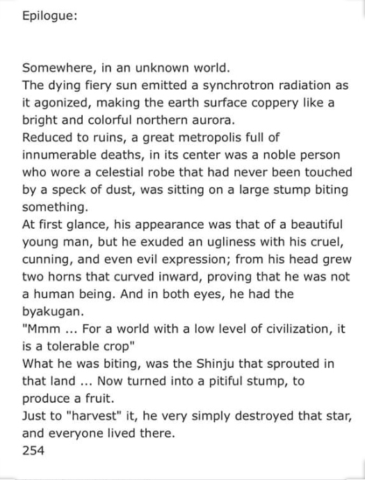 He very simply destroyed that star and everyone lived there.