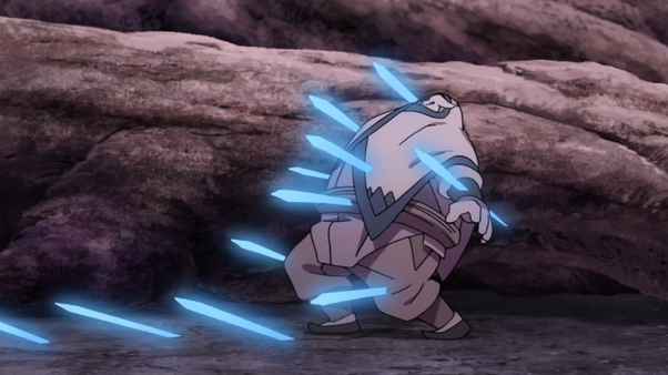 Got impaled by fodder Jutsu from a guy who is weaker then Zabuza