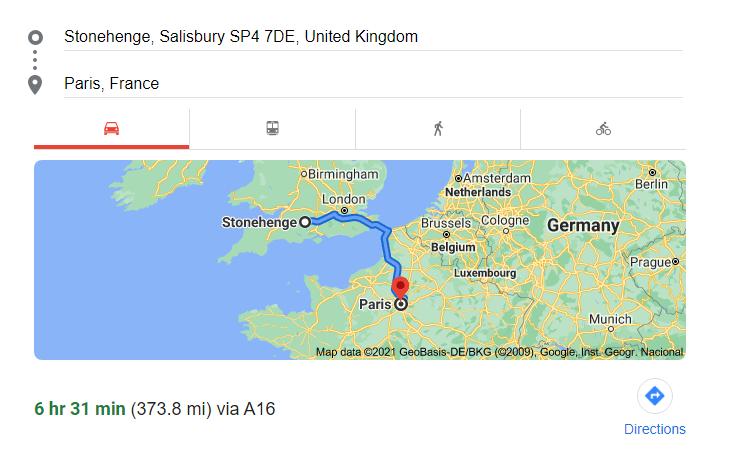 373 miles