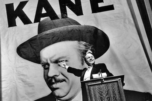 Welles as Charles Foster Kane in RKO Picture's 'Citizen Kane' (1941)