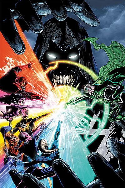 Hal Jordan as Parallax Once More