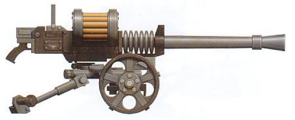 Autocannon (anti-heavy infantry and light vehicles)