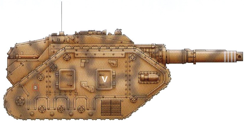 Destroyer (forward-mounted heavy lascannon means a very dedicated anti-vehicle tank)