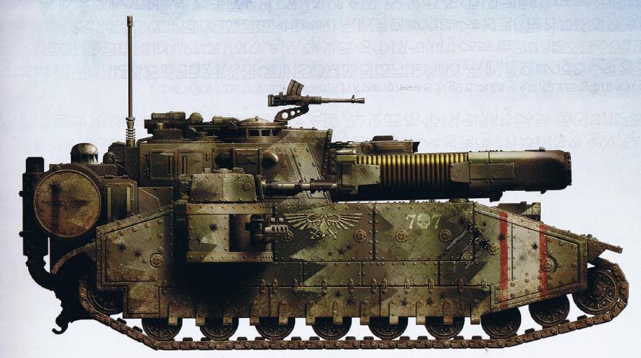 Stormblade (super-heavy tank featuring a Plasma Blastgun as well as the typical interchangeable armament of a Shadowsword)