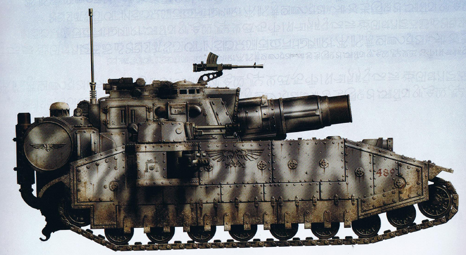 Stormsword (super-heavy tank featuring a Hellhammer Siege Cannon as well as the typical interchangeable armament of a Shadowsword)