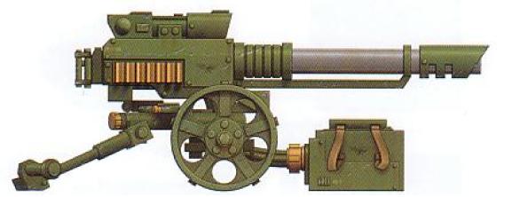 Lascannon (dedicated anti-vehicle heavy weapon)