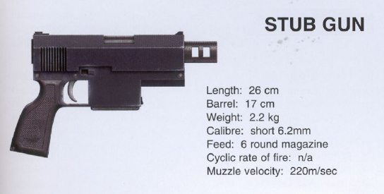 The trusted sidearm of many Imperial officers and Commissars