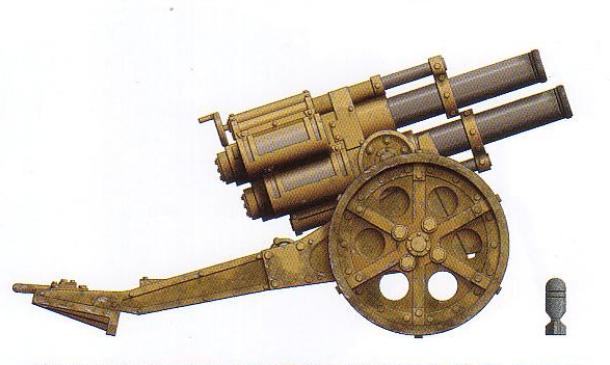 Thudd Gun (note: has four barrels)