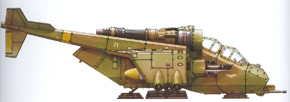 Valkyrie (the mainstay aerial troop transport capable of many interchangeable weapon loadouts) (transport capacity of thirty)
