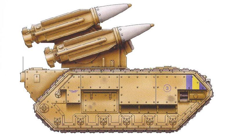 Manitcore (dedicated ordinance battery with interchangeable warhead options)