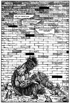 The Rat King in Mirage Comics