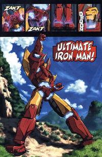 Manga Iron Man