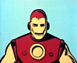 Iron Man's animated debut.