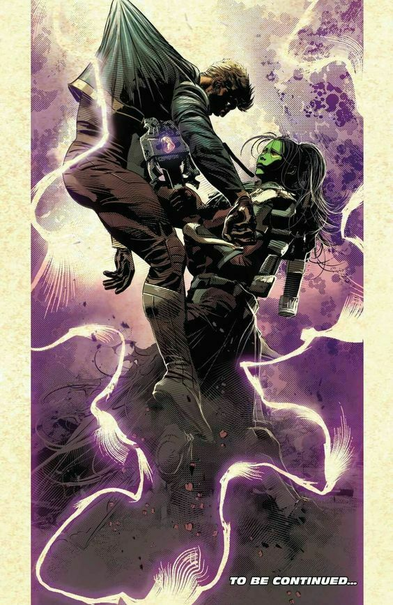 Quill killed by Gamora