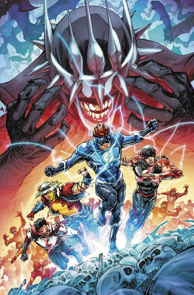 Wally runs with the Flash Family