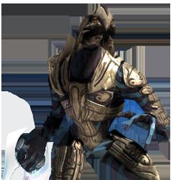 The Arbiter, the most famous Sangheili/Elite.