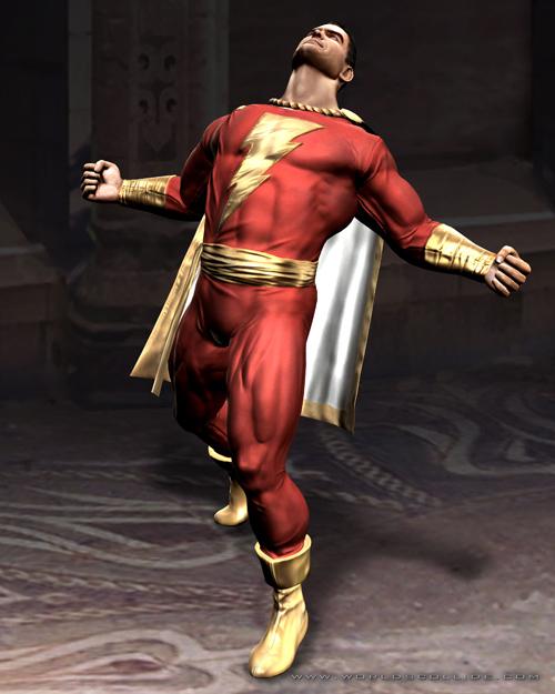Captain Marvel from Moral Kombat vs DC