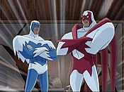 DCAU Dove and Hawk in Justice League Unlimited