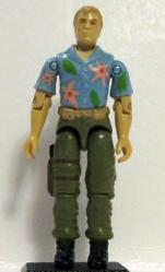 1987 Chuckles Hasbro action figure.