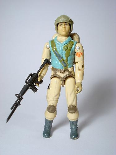 1983 Airborne Hasbro action figure